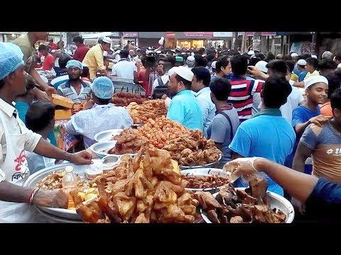 Iftar Market  at Chawk Bazar old Dhaka. 1 st Day of Ramadan 2017.