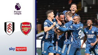 Arsenal startet furios! | FC Fulham - FC Arsenal 0:3 | Highlights - Premier League 2020/21