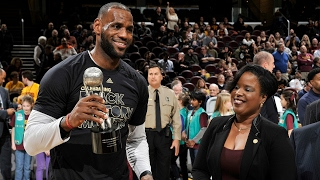 LeBron Speaks About Receiving the Jackie Robinson Sports Award