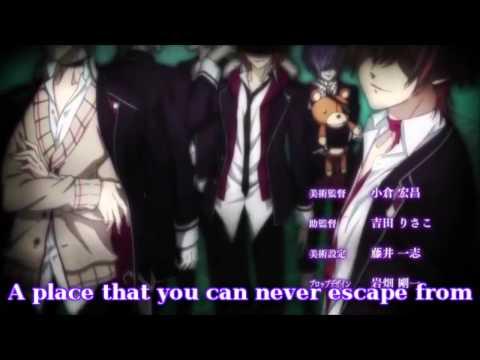 ENGLISH - MR. SADISTIC NIGHT! Diabolik Lovers OP1 (One Second Too Late)