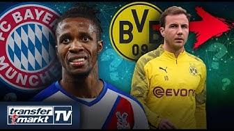 Zaha bei Bayern angeboten? – Götzes BVB-Abgang offenbar fix | TRANSFERMARKT