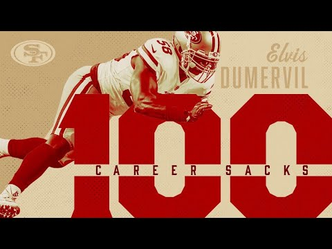 Elvis Dumervil 100th Sack