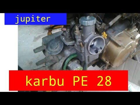 Cara Pasang Karburator Pe 28 Ke Motor Jupiter Z