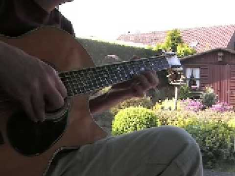 Maria Wanders Amid The Thorn - Fingerstyle instrumental on a Greven maple FX