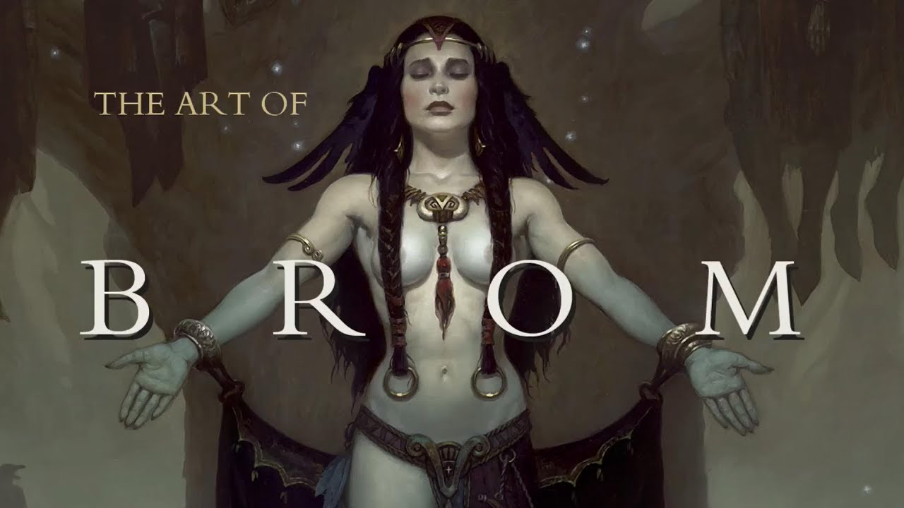 Download The Art of Brom by Brom