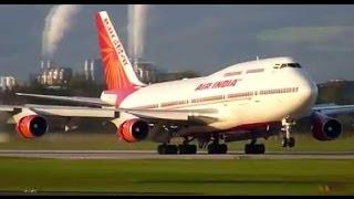 AIR INDIA BOEING | EMERGENCY LANDING | KARIPPUR INTERNATIONAL AIRPORT | BIGGEST BOEING 747-400