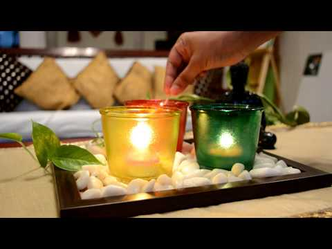 Tealight Candle holders at home | Easy Diwali Decor Ideas| Oh so homemade