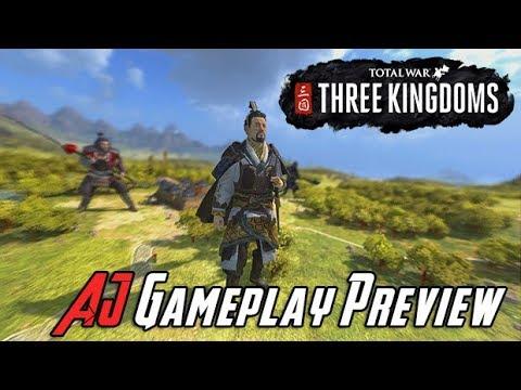 AJs Total War: Three Kindgoms Gameplay!