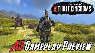 AJ's Total War: Three Kindgoms Gameplay!
