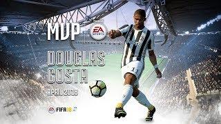 Douglas Costa wins April MVP powered by EA Sports