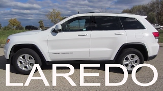 2016 Jeep Grand Cherokee Laredo | Full Rental Car Review and Test Drive