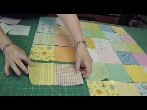 Make a Baby Quilt - Part 1 - Fabric Selection & Assembly