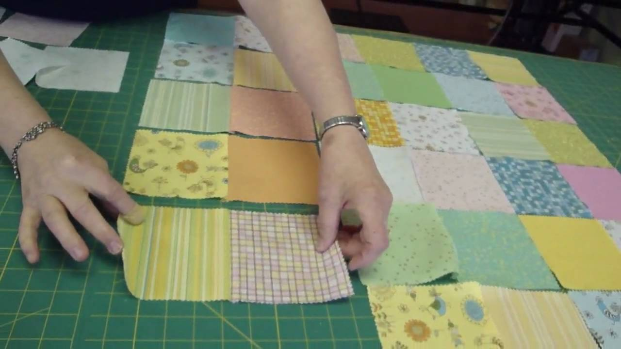 Baby Quilts.com Make A Baby Quilt Part 1 Fabric Selection Assembly