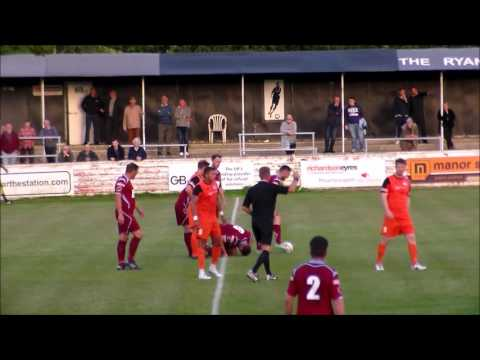 Chesham Utd v St.Ives Evostik Southern Premier 9th August 2016