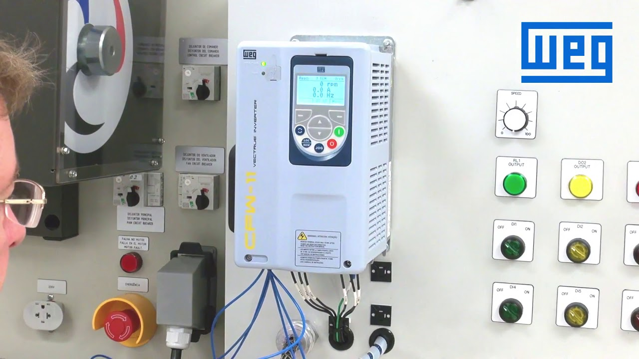weg drives wiring diagram weg how to wire and program a 3 wire start stop control for  weg how to wire and program a 3 wire