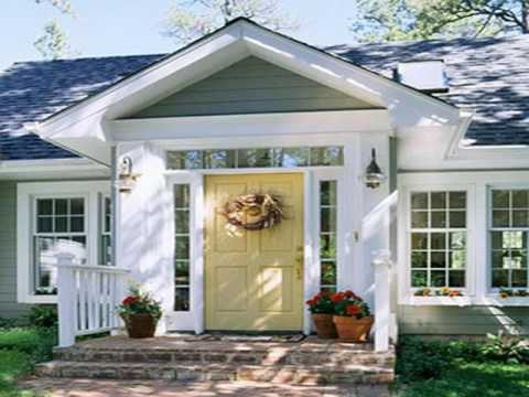 Yellow Front Door Paint Colors Ideas for Home - YouTube