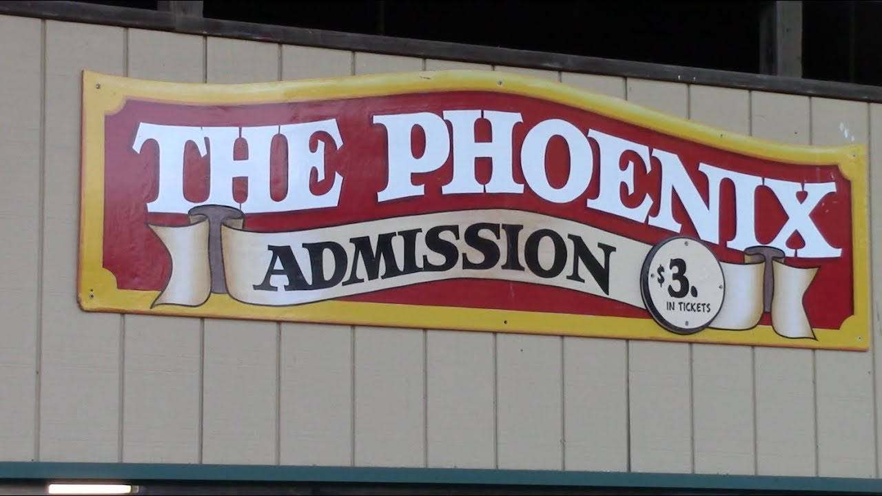 Phoenix Review Knoebels Airtime-Packed Wooden Roller Coaster