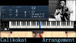 River- Joni Mitchell - Piano