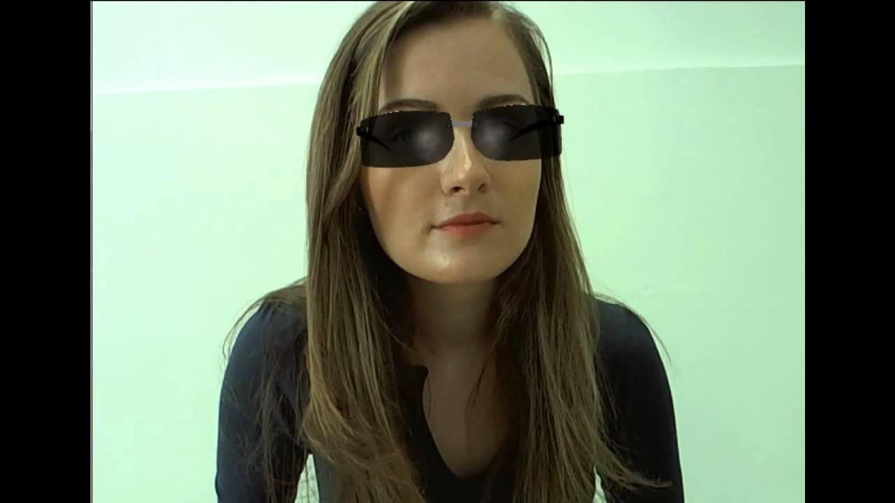 aa68a020f6d64 Provador Virtual de Óculos 3D - YouTube