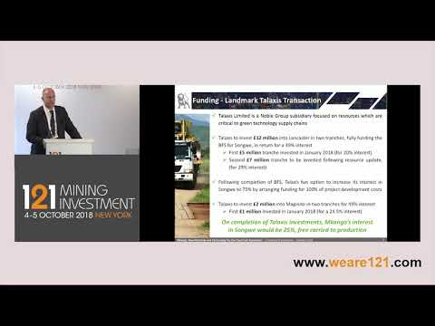 Presentation: Mkango Resources - 121 Mining Investment New York October 2018