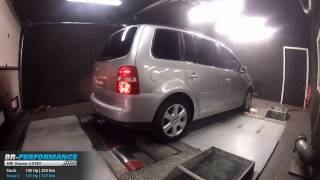 Reprogrammation Moteur VW Touran 1.9 TDI 105hp @ 141hp par BR-Performance