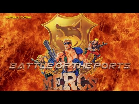 Battle of the Ports - Mercs (戦場の狼 II) Show #75 - 60fps