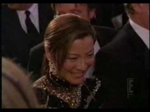 E! Oscar Preshow: Michelle Yeoh (2001)