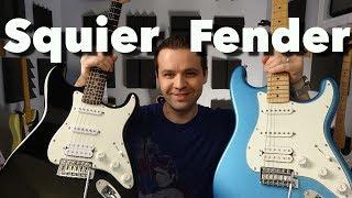 SQUIER vs FENDER - Stratocaster HSS Tone Comparisons