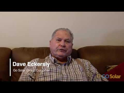 Dave Eckersley shares his experience with Go Solar Group