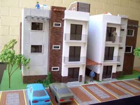Maqueta edificio de apartamentos villas almoreto for Maquetas de apartamentos modernos