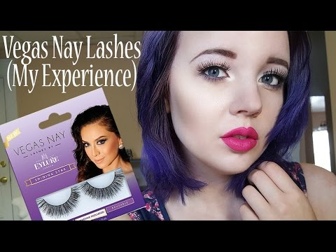 558a4d50cff BOO! Vegas Nay Eylure Lashes Review/My Experience - YouTube