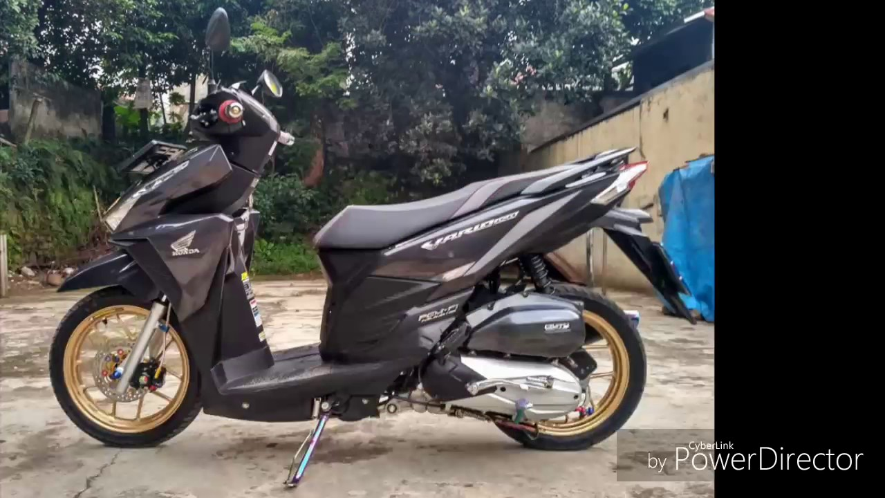 MODIFIKASI VARIO 125 150 TERBARU 2017 YouTube
