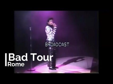 Michael Jackson - Bad Tour Rome 1988 - Full Concert - YouTube