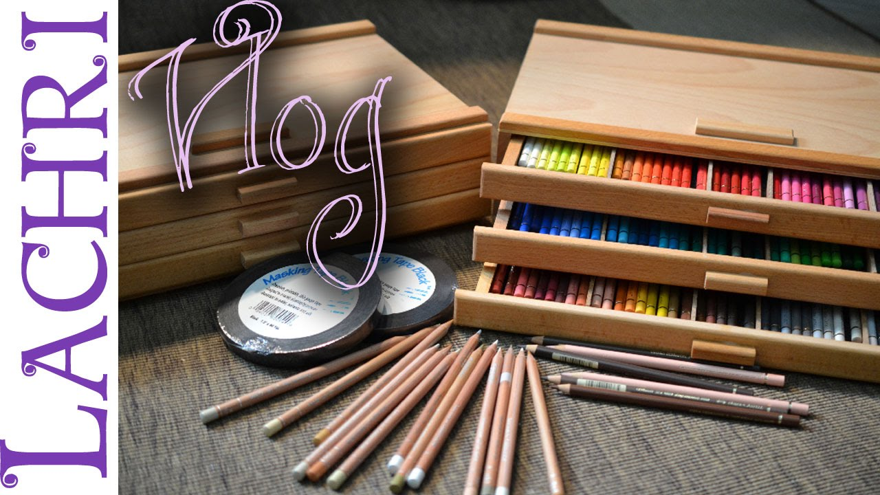 Ordinaire Artist Vlog   New Colored Pencil Storage Boxes   Lachri   YouTube