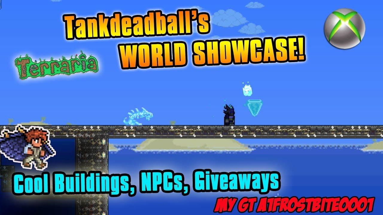 Terraria Xbox One World Showcase - Tankdeadball\'s Terraria map ...