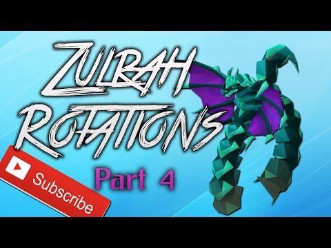 OSRS Zulrah Rotations I Rotation Nr. 4