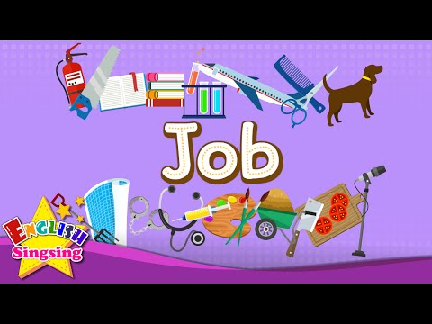 Kids vocabulary - [Old] Jobs - Let's learn about jobs - Learn English for kids