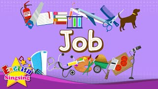 Kids vocabulary - Job - Let