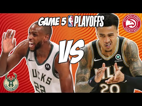 Milwaukee Bucks vs Atlanta Hawks Game 5 7/1/21 NBA Playoff Free NBA Pick & Prediction