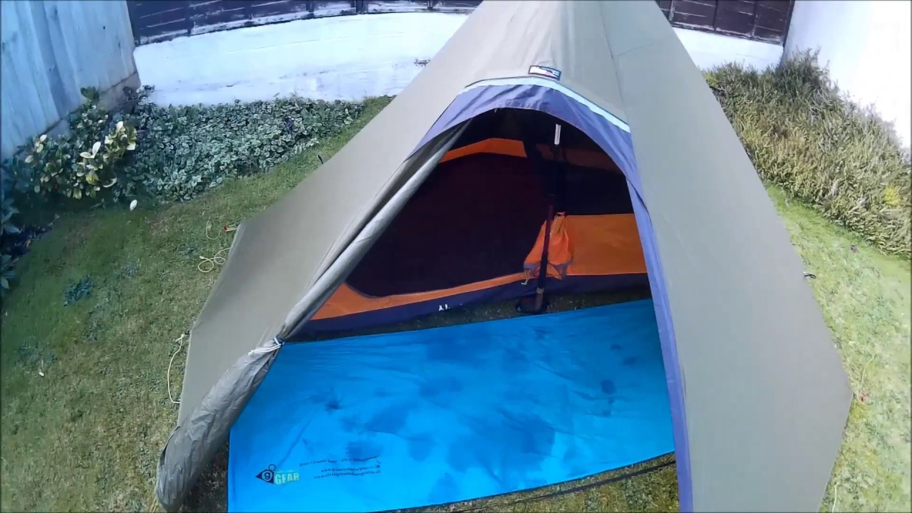 Luxe Sil Hexpeak V4A tent review & Luxe Sil Hexpeak V4A tent review - YouTube