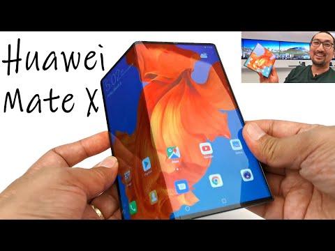 Hands-on Preview Lengkap Huawei Mate X: Smartphone Lipat (Foldable) Pertama dgn 5G - Indonesia