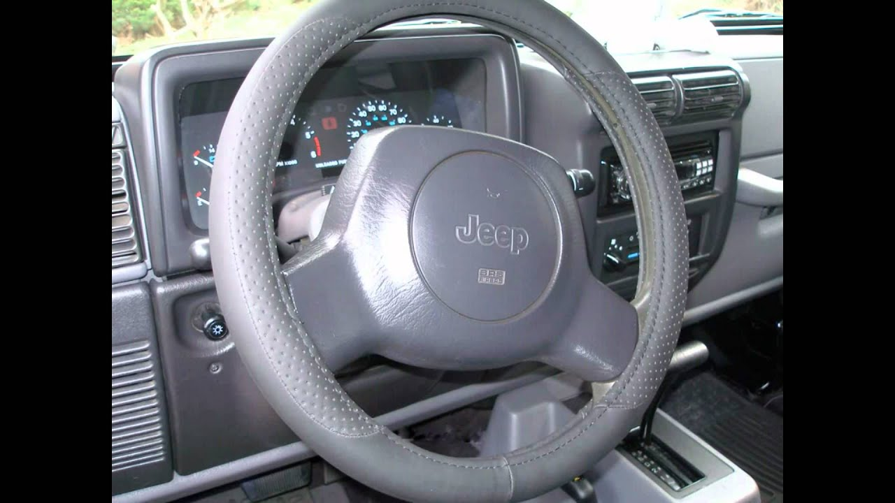 Superb For Sale 1997 Jeep Wrangler Sport 4.0L Automatic Transmission   YouTube