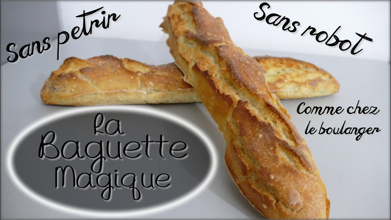 Baguette fait maison recette ventana blog for Baguette du maison
