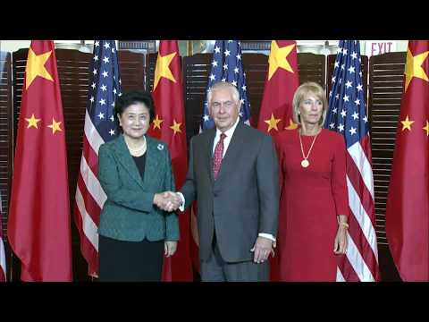 Remarks With Chinese Vice Premier Liu Yandong and Secretary of Education Betsy DeVos Before Meeting