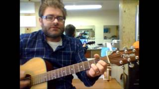 """How to play """"Queen Of Hearts"""" by Juice Newton on acoustic guitar"""