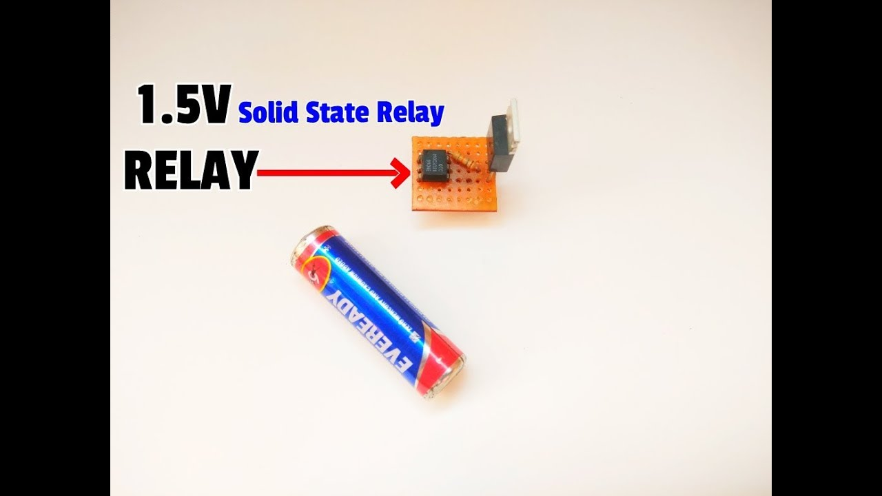 Solid State Relaymake Relay At Homessr Youtube Vs Triac Make