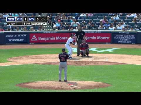 New York Yankees vs Cleveland Indians August 22 2015