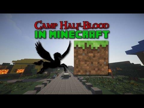 Camp Half-Blood in Minecraft (Minecraft Cinematic)