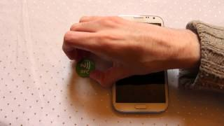 Magnetic NFC Tag quick to add and remove  - Practical NFC