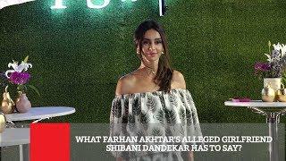 What Farhan Akhtar's Alleged Girlfriend Shibani Dandekar Has To Say